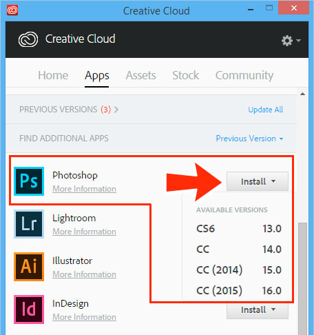 Image result for installing an older version of illustrator